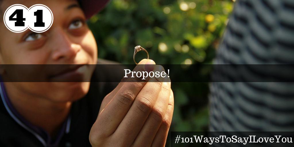 Propose!